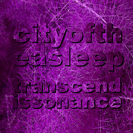 Transcendissonance by City of the Asleep, front cover